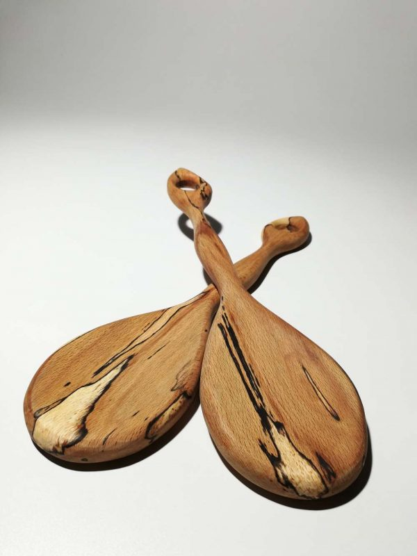 spalted beech salad spoons 2