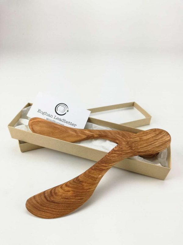 olive ash butter knife set