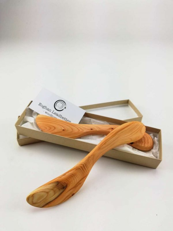 yew butter knife set