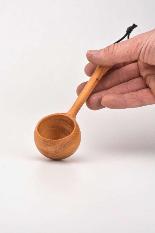 Yew coffee scoop 4