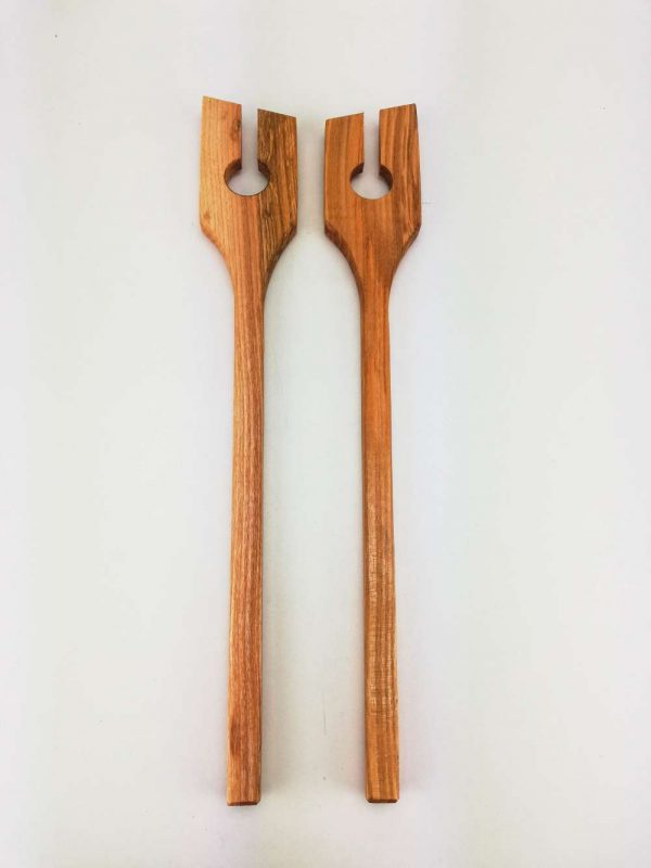 olive ash salad spoons 4