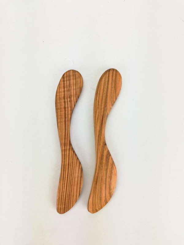 olive ash butter knife set