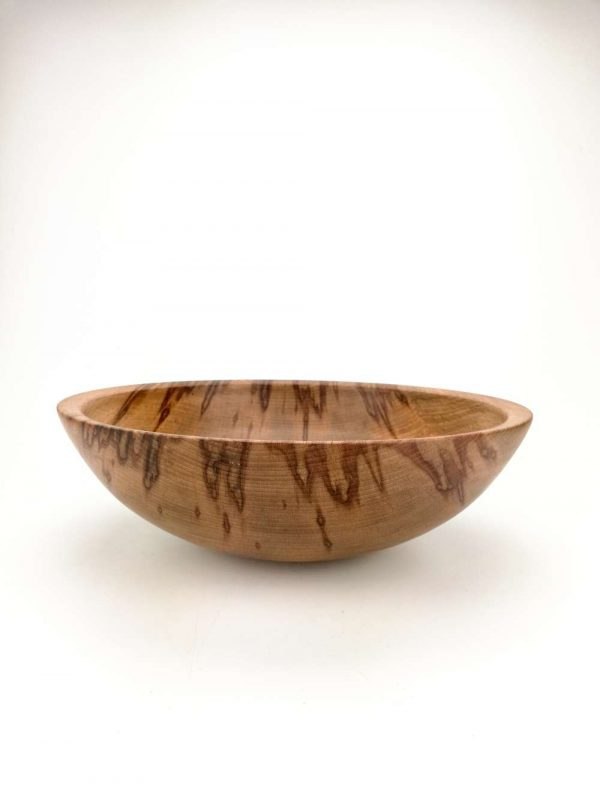 flamed beech bowl